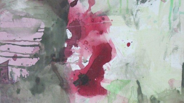 Confusion des sens, 60x50 cm, pigments et acrylique sur toile, 2012